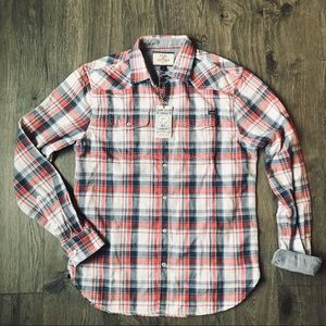 NWT Flag and Anthem Western shirt | S